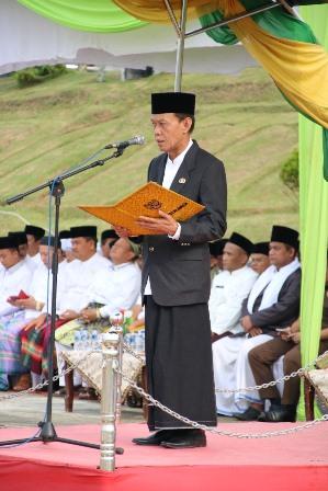 Wabup H.Zardewan Inspektur Upacara Peringatan Hari Santri Nasional ( HSN ) 2019