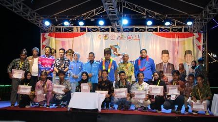 Bupati Pelalawan H.M.Harris Tutup Jambore Pemuda KNPI Pelalawan