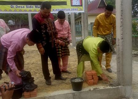 Melalui Program PPIDK 350 Juta, Bupati Harris Resmikan Gedung Serbaguna Sidomukti.