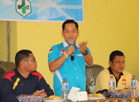 Adi Sukemi : KNPI Akan Memberikan Kontribusi Yang Baik Bagi Pembangunan Pelalawan